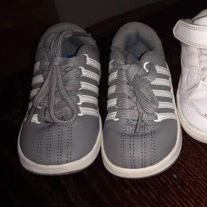 Grey kswiss